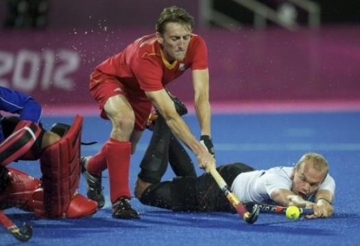 Xavier Reckinger aux Jeux olympiques © FIH