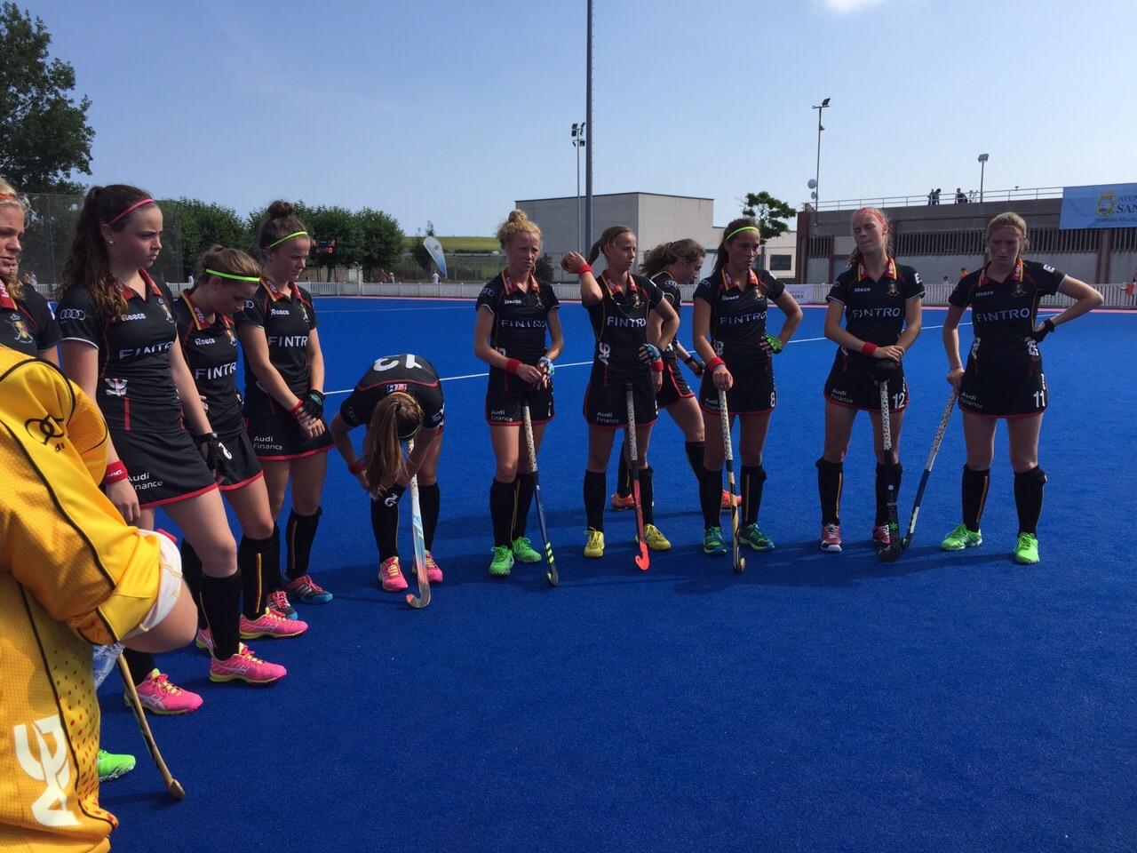 U18 Girls Belgique