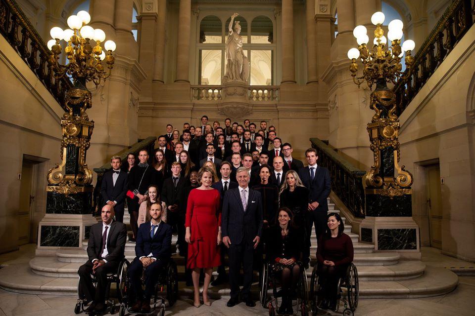 Les Lions reçus au Palais royal — Hockeybelgium